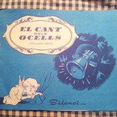Partituras musicales: EL CANT DELS OCELLS,,, PARTITURA CON PUBLICIDAD DE BLANDÍN, LABORATORIOS ESTEVE. Lote 42724335