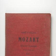 Partituras musicales: METODO MOZART KLAVIER- SONATEN. Lote 42847397