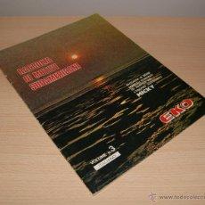 Partituras musicales: LIBRO DE MÚSICA EKO VOLUME N. 3 PARA ORGANO ELECTRÓNICO - 16 CANCIONES EN PARTITURA - ITALIANO. Lote 42866230