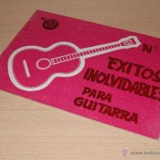 Partituras musicales: MÚSICA DEL SUR - EXITOS INOLVIDABLES PARA GUITARRA - Nº 4. Lote 42866896