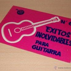Partituras musicales: MÚSICA DEL SUR - EXITOS INOLVIDABLES PARA GUITARRA - Nº 6. Lote 42866982