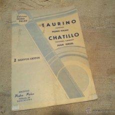 Partituras musicales: ANTIGUA DOBLE PARTITURA AÑOS 40...PASODOBLE. Lote 43476232