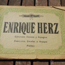 Partituras musicales: EDICION IBERICA Nº 09 - ENRIQUE HERZ - EJERCICIOS, ESCALAS Y ARPEGIOS - PIANO. Lote 43595126