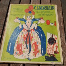 Partituras musicales: CLIFTON WORSLEY - CENDRILLON - IBERIA MUSICAL. Lote 43596479