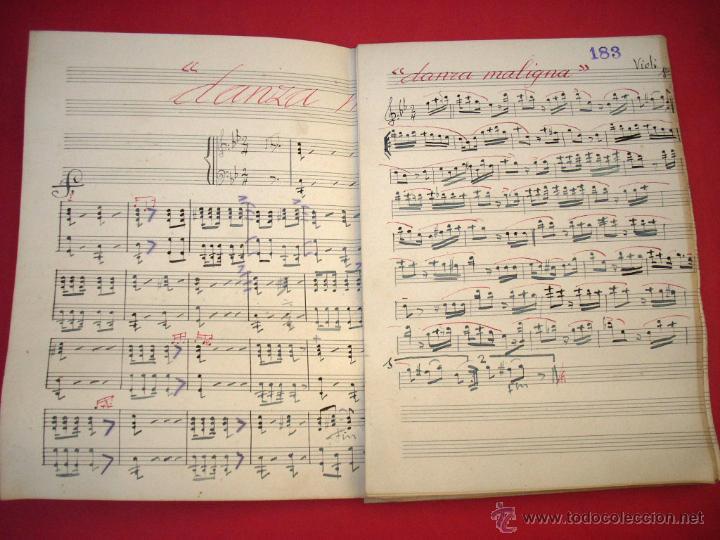 DANZA MALIGNA - COMPOSITOR ARTUR RIMBAU I PARALS - 1930'S (Música - Partituras Musicales Antiguas)