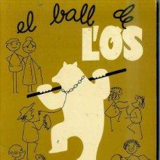 Partituras musicales: MASFERRER / ALBERT : EL BALL DE L'OS - CANÇONER POPULAR (1981). Lote 45077277