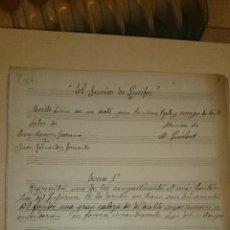 Partituras musicales: EL SUEÑO DE LUCIFER - MANUEL QUISLANT BOTELLA ( SANTA POLA ALICANTE ). Lote 46759704