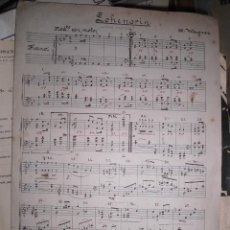 Partituras musicales: PARTITURA ANTIGUA MANUSCRITA LOHENGRIN DE R WAGNER MANUSCRITO. Lote 47347477
