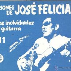 Partituras musicais: PARTITURAS PARA GUITARRA. ED. MÚSICA DEL SUR Nº11. JOSE FELICIANO 1972. Lote 47540364