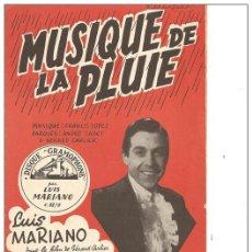 Partituras musicales - Luis Mariano. - 47825945