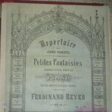 Partituras musicales: LES HUGUENOTS, DE J. MEYERBEER, REPERTORIO PARA JÓVENES PIANISTAS. LOS HUGONOTES. Lote 47865524