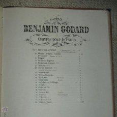 Partituras musicales: BARCAROLA PARA PIANO POR BENJAMIN GODARD. Lote 47989791