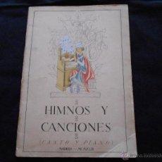 Partituras musicales: LIBRO DE PARTITURA HIMNOS Y CANCIONES DE FALANGE, DIVISION AZUL, HIMNO OFICIAL FASCISTA // LEER DESC. Lote 48001029