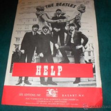 Partituras musicais: BEATLES, HELP. LES EDITIONS BASART N. V. AMSTERDAM 1965. Lote 48861097