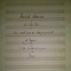 Partituras musicales: 30 LETANIAS A LA S. VIRGEN A 3 Y 4 VOCES CON ACOMPAÑAMIENTO DE ORGANO POR EL PADRE LAMBILLOTTE. Lote 48949113