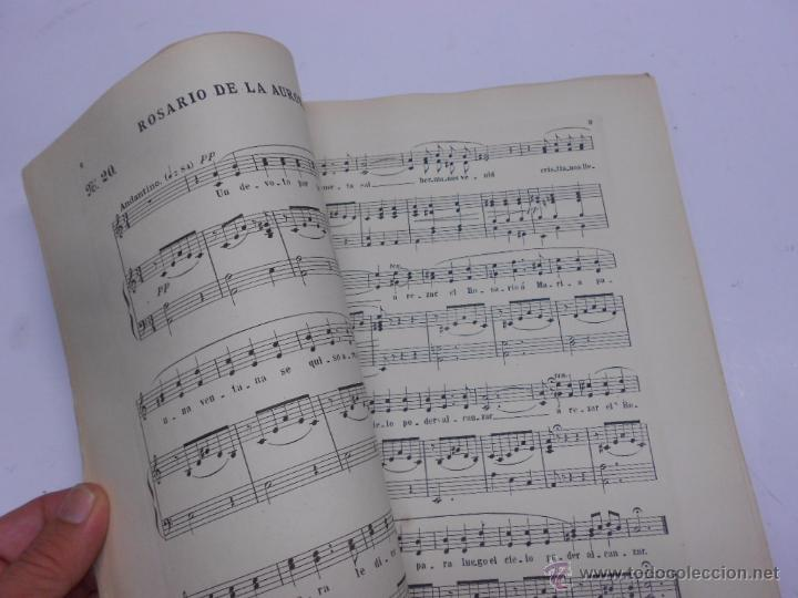 Partituras musicales: COLECCION DE CANTICOS POPULARES DE MURCIA POR F.VERDU. DEDICATORIA MANUSCRITA... AÑO 1905.RARISIMO - Foto 4 - 50138793