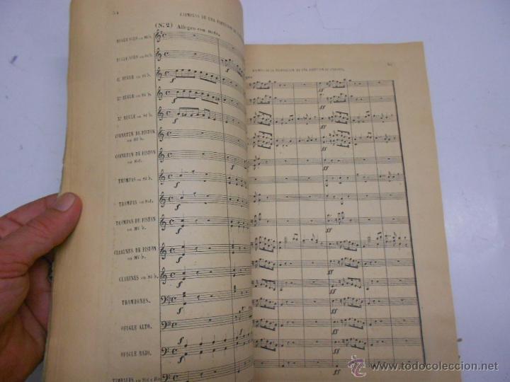 Partituras musicales: FETIS: MANUAL DE COMPOSITORES, DIRECTORES DE ORQUESTA MAESTROS Y MUSICOS MAYORES. CASA DOTESIO - Foto 3 - 50531896