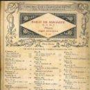 Partituras musicales: SARASATE : PLAYERA (NEW YORK, S.F.). Lote 51959502