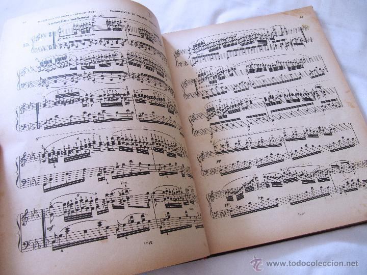 Partituras musicales: CARLOS CZERNY - ESCUELA DEL VIRTUOSO - OP 365 PIANO - LUJOSO ENCUADERNAMIENTO - BOILEAU - Foto 4 - 52421337