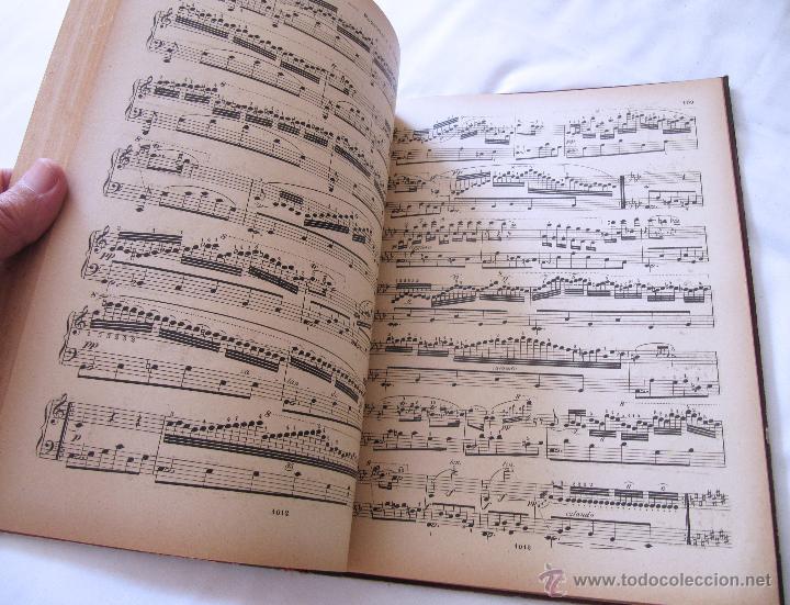 Partituras musicales: CARLOS CZERNY - ESCUELA DEL VIRTUOSO - OP 365 PIANO - LUJOSO ENCUADERNAMIENTO - BOILEAU - Foto 5 - 52421337
