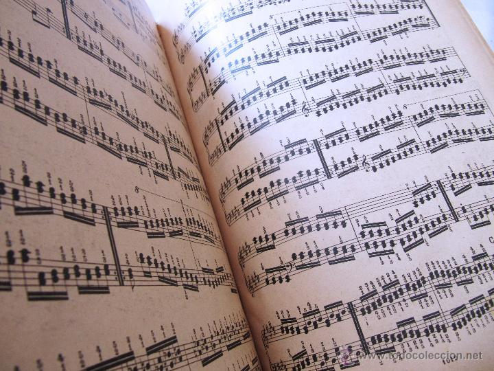 Partituras musicales: CARLOS CZERNY - ESCUELA DEL VIRTUOSO - OP 365 PIANO - LUJOSO ENCUADERNAMIENTO - BOILEAU - Foto 6 - 52421337