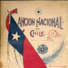 Partituras musicales: CANCIÓN NACIONAL DE CHILE. Lote 52579531