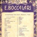 Partituras musicales: BOCCALARI . FAUST DE GOUNOD - VIOLIN Y PIANO (BREYER, BUENOS AIRES). Lote 52723447