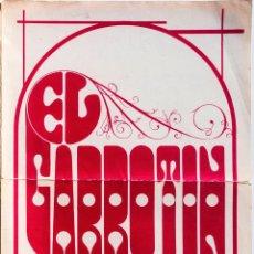 Partituras musicales: SMASH - GARROTÍN (JULIO MATITO, MANUEL MOLINA, RICARDO PACHÓN) PARTITURA 1971. Lote 52784744