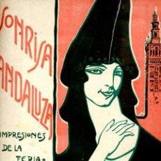 Partituras musicales: SCHUMANN : SONRISA ANDALUZA IMPRESIONES DE LA FERIA - CAPRICHO ESPAÑOL PARA PIANO (BOILEAU, 1921). Lote 53238462