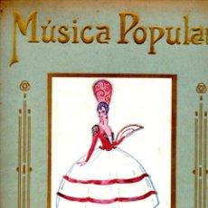 Partituras musicales: LUIS ROMO : MÚSICA POPULAR - 10 PARTITURAS. Lote 53239782