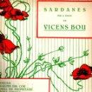 Partituras musicales: VICENS BOU : SARDANES PER A PIANO - ANGELINA - GERONA AMADA (MUSICAL EMPORIUM). Lote 53284453