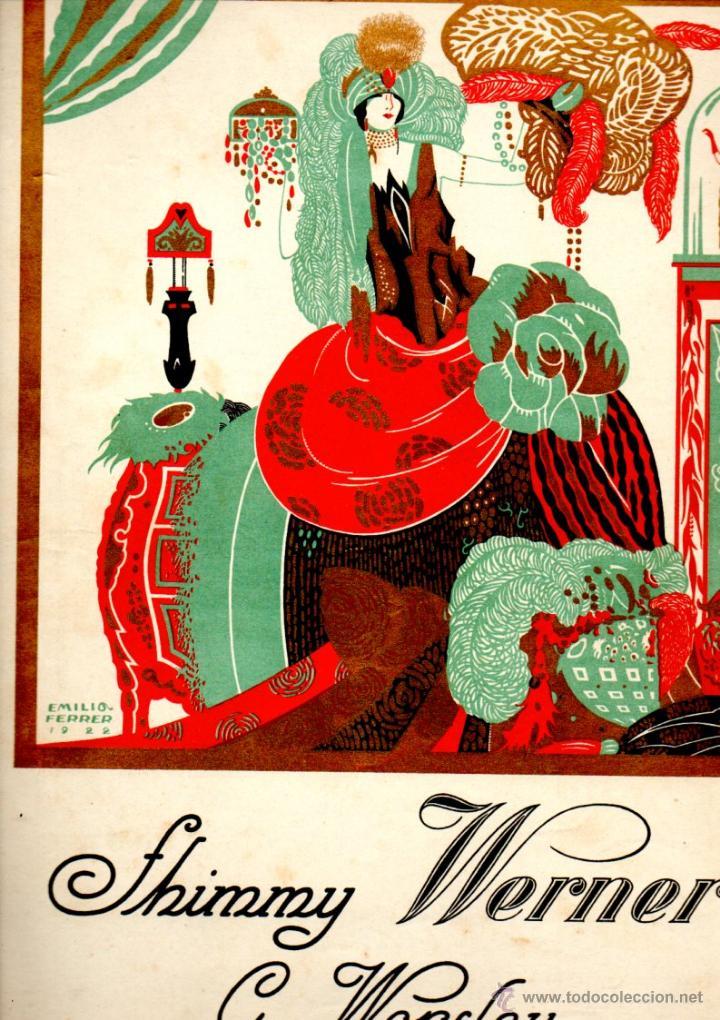 WORSLEY : SHIMMY WERNER (1922) (Música - Partituras Musicales Antiguas)