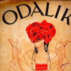 Partituras musicales: JOSÉ ARMÁNDOLA : ODALIK (BERLIN, 1920). Lote 53322095