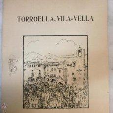 Partituras musicales: CURIOSA PARTITURA - TORROELLA, VILA-VELLA - SARDANA - FIRMADA Y DE PUÑO Y LETRA DE VICENS BOU. Lote 53765782