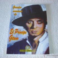 Partituras musicais: GRANDES CREACIONES DE EL PRINCIPE GITANO (LIBRO DE PARTITURAS Y LETRAS DE CANCIONES) - QUIROGA 2010. Lote 206191837