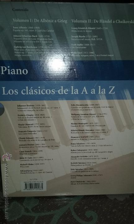 Partituras musicales: PIANO. PARTITURAS. DOS TOMOS. - Foto 3 - 54600302