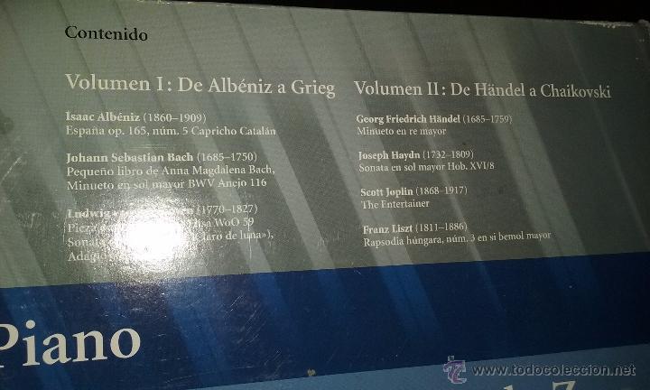 Partituras musicales: PIANO. PARTITURAS. DOS TOMOS. - Foto 4 - 54600302
