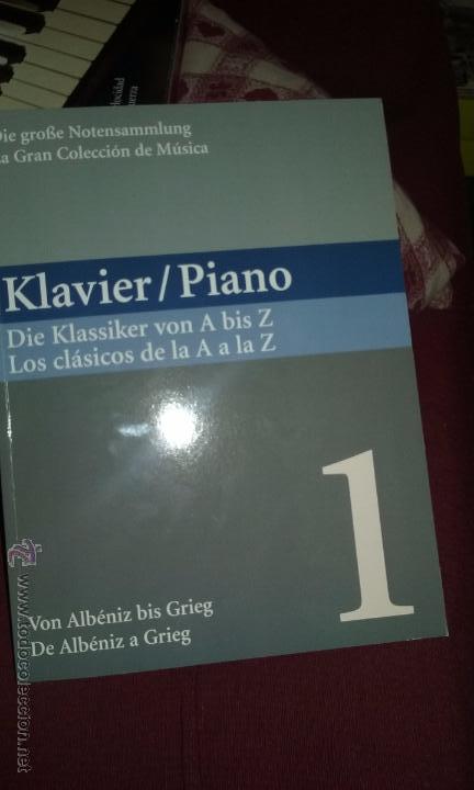 Partituras musicales: PIANO. PARTITURAS. DOS TOMOS. - Foto 8 - 54600302