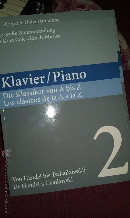 Partituras musicales: PIANO. PARTITURAS. DOS TOMOS. - Foto 10 - 54600302
