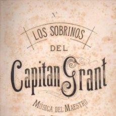 Partituras musicales: CABALLERO : LOS SOBRINOS DEL CAPITÁN GRANT - VALS EL MAR (ROMERO). Lote 54710279