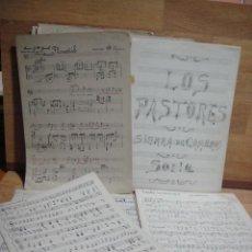Partituras musicales: PARTITURAS MANUSCRITAS. Lote 55080231