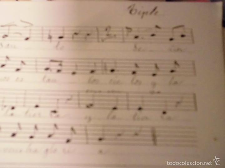 Partituras musicales: PARTITURA MANUSCRITA INEDITA TRISAGIO AL SANTISIMO. DE B. T. 10 PAGS CIRCA 1900 - Foto 7 - 56596113
