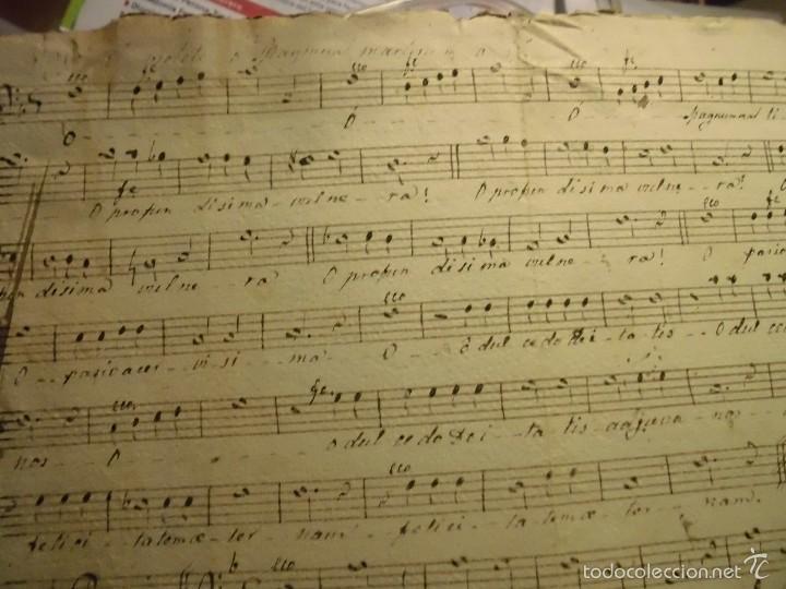 PARTITURA MANUSCRITA TIPLE CIRCA 1860 (Música - Partituras Musicales Antiguas)