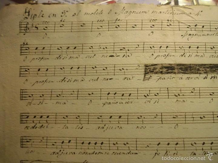 Partituras musicales: PARTITURA MANUSCRITA TIPLE CIRCA 1860 - Foto 2 - 56641438