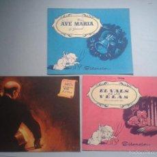 Partituras musicales: LOTE DE 3 PARTITURAS ANTIGUAS.. Lote 56802068