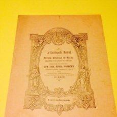 Partituras musicales: OBRAS MUSICALES DEL COMPOSITOR JOSE MARIA FRANCES.. Lote 57112956