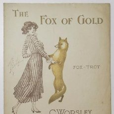 Partituras musicales: THE FOX OF GOLD - C. WORSLEY. Lote 57326342