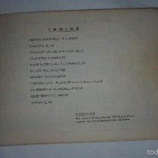 Partituras musicales: PARTITURA DE CIEN CANCIONES . Lote 58569221