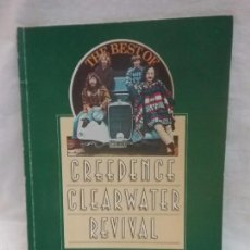 Partituras musicales: LIBRO PARTITURAS 20 MEJORES CANCIONES DEL GRUPO THE BEST OF CREEDENCE CLEARWATER REVIVAL . Lote 59184595