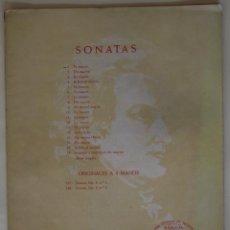 Partituras musicales: MOZART SONATAS - FA MAYOR. Lote 59408405